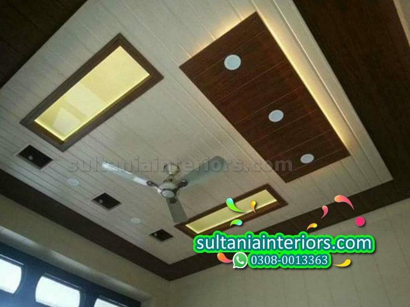 Plastic Pvc Walls Pop Ceiling Pvc Fancy Ceiling Plastic Pop Ceiling Sultania Interiors