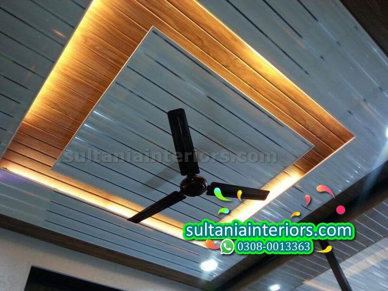 Plastic Pvc Walls Pop Ceiling Pvc Fancy Ceiling Plastic Pop Ceiling Sultania Interiors